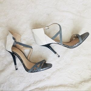 L.A.M.B. Printed heels